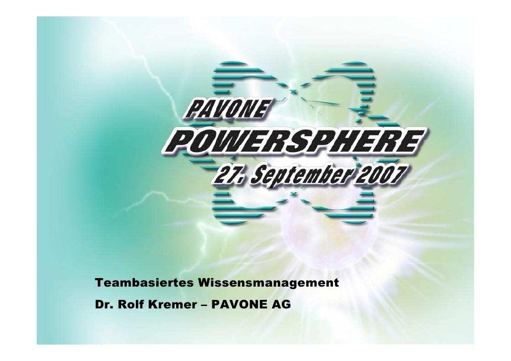 Agenda  Notwendigkeit  Information  Verteilung  Kommunikation  Nutzen  F&A                     Teambasiertes Wissensmanage...