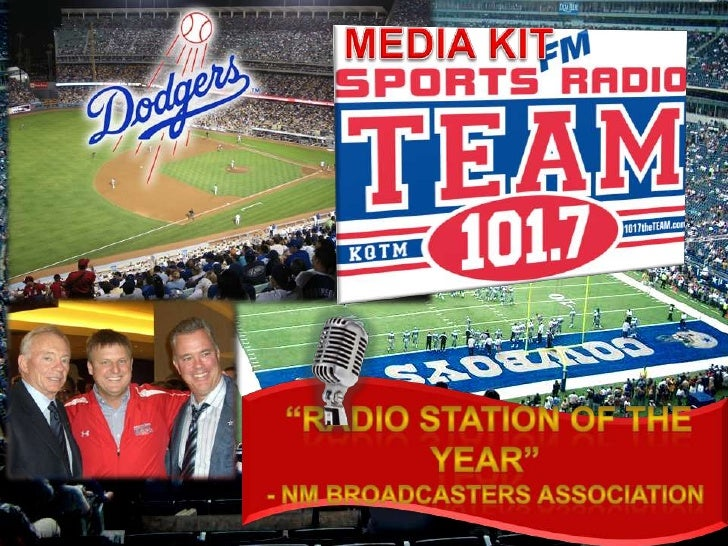"""Media Kit<br />""""RADIO STATION OF THE YEAR"""" <br />- NM Broadcasters Association <br />"""