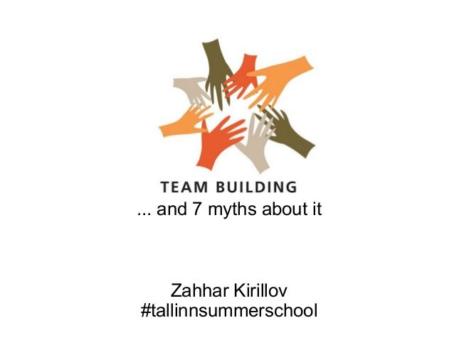 ... and 7 myths about it Zahhar Kirillov #tallinnsummerschool