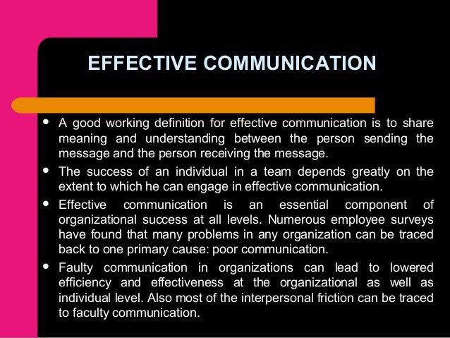 """differences between efficient and effective communication I am continually learning the distinction between """"expensive"""" and """"valuable   this will make for much more efficient interactions and effective communication."""