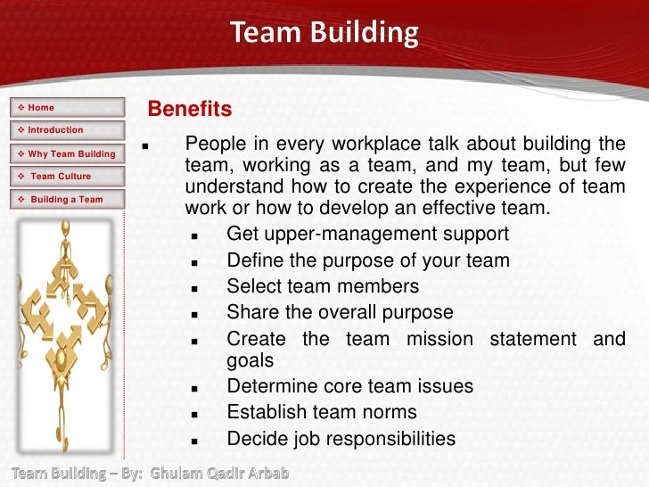 how can you effectively work in a team essay Work teams can effectively handle inventory, scheduling, quality assurance and other disciplines typically reserved for members of management (weiss 1998) each team member has their own character and strengths and contributes to a more exciting and effective overall result.