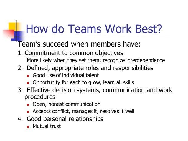 Team building Slide 3