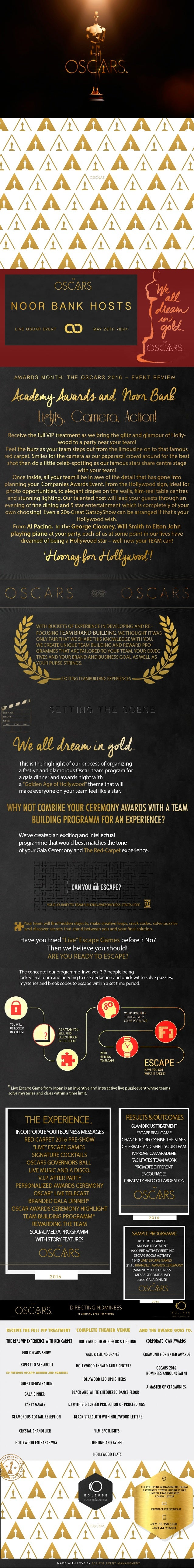 Team Building and Award Ceremony Event, UAE  by Eclipse Event Management, Dubai