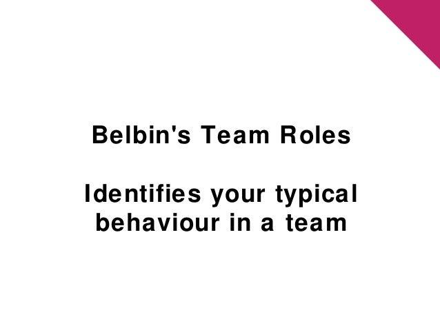 Fundamentals of teamwork