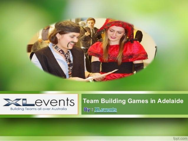Team Building Games in Adelaide