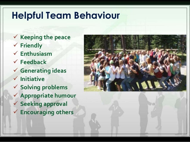 presentation team building Presentation strategy: team or group presentations ask the experts q our group has to give team presentations from time to time what tips can you give us on preparing and delivering a successful team presentation.
