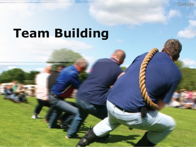 Team building for Team building powerpoint presentation templates