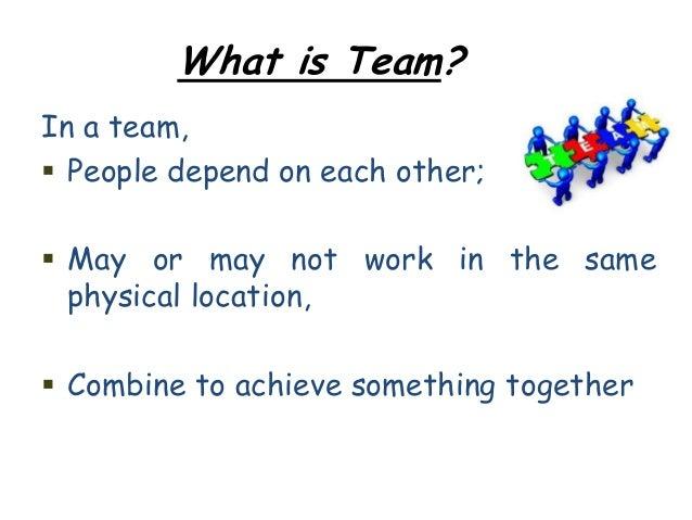 Team building ppt manisha (may & june, 2012)