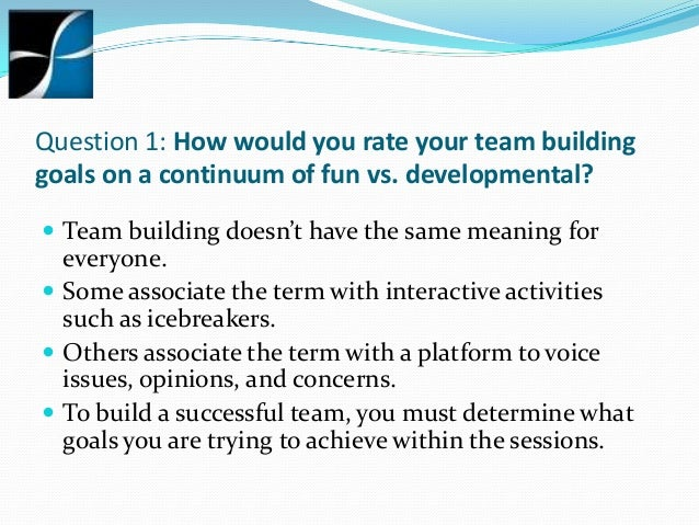 Team building questions to help you make the right for Questions to ask a builder
