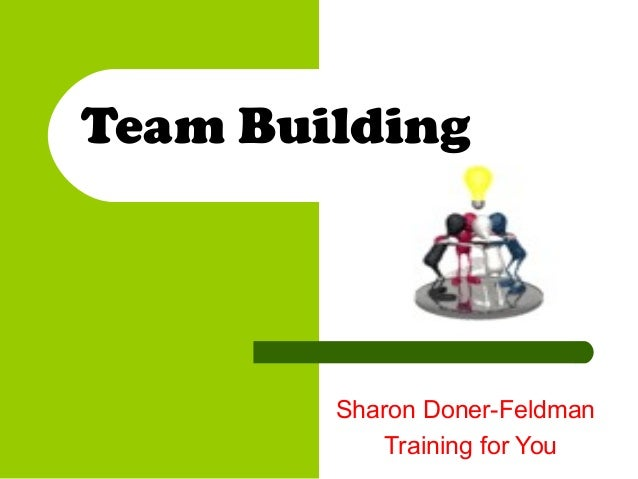 Team building sharondonerfeldman