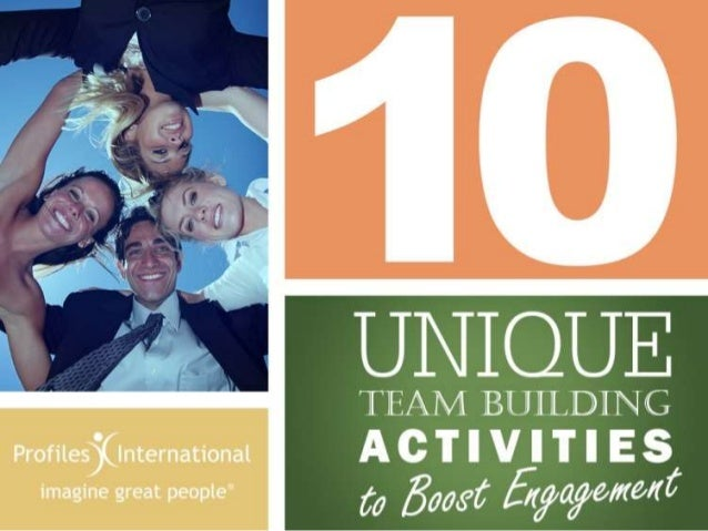 10 Unique Team Building Activities to Boost Engagement