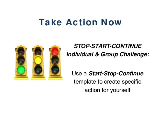 start stop continue template - team building with purpose hrpa 2015