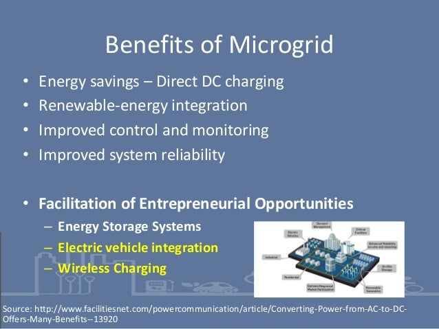 Microgrids, Electric Vehicles and Wireless Charging