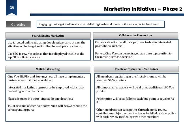 16                                                                          Marketing Initiatives – Phase 2   Objective   ...