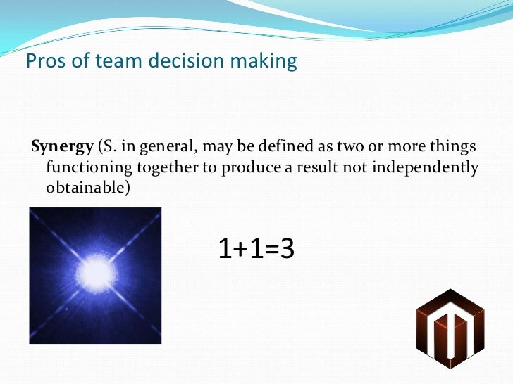 committees and group decision making • inter- and intra- group dynamics • group decision making processes when no one is in charge group decision making • making decisions when you are in charge • making decisions when no one is in charge • examples: - informal groups - groups a peers - ad hoc groups and committees.