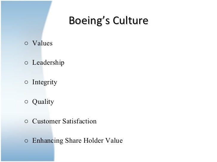 management structure of boeing essay Boeing corporation analysis paper table of operations management its productivity and achieve the lowest possible cost structure and flexibility to.