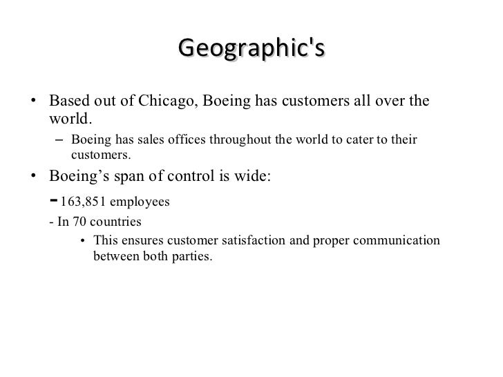 management structure of boeing
