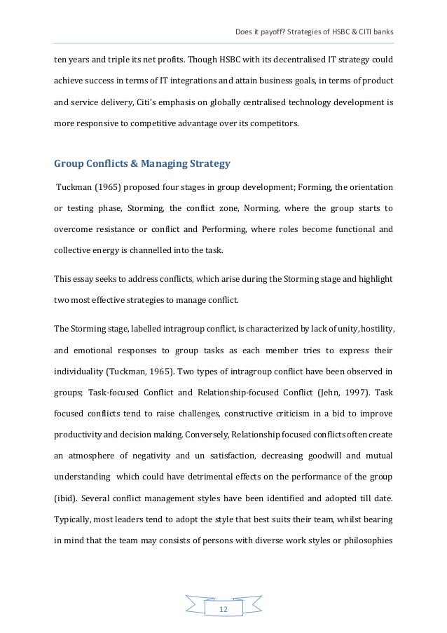 technology hsbc case study essay With the arrival of payment services directive ii (psd2) in case of loss or theft of there is potential for hsbc to reduce this timeframe for corporate.