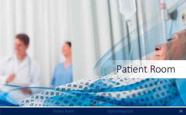 21Patient Room Digital hospitals Patient Room