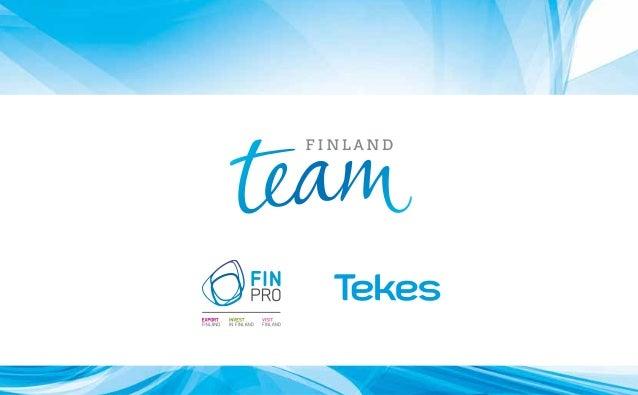 Team Finland Digital Hospitals