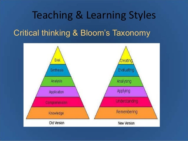 relationships between critical thinking dispositions and learning styles Teacher candidates' learning styles and critical thinking dispositions learning style and critical thinking are the two important characteristics and qualities.