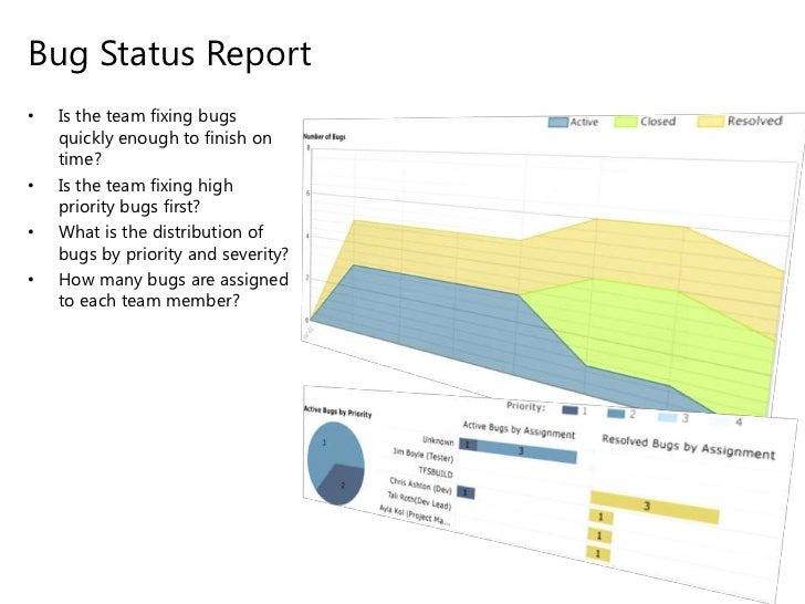 Team Foundation Server Tracking Reporting – Bug Report Template