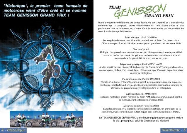 Team Genisson Grand Prix 1999 Slide 3