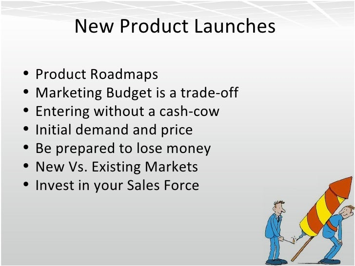 how to create a new product in new market markstrat