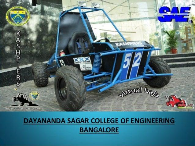 DAYANANDA SAGAR COLLEGE OF ENGINEERING BANGALORE