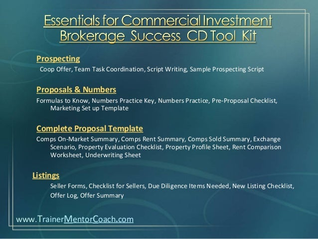 Building And Raising A Top Producing Commercial Investment Brokerage