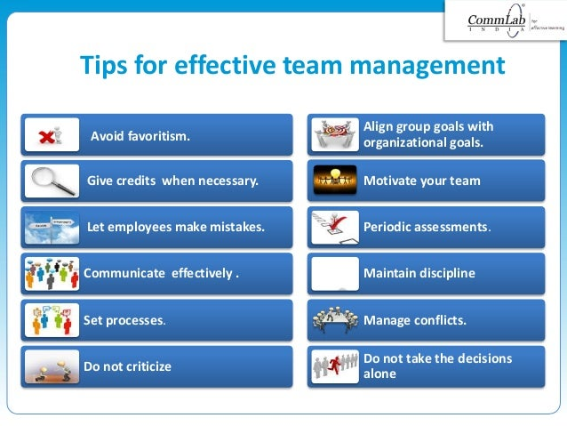how to work effectively in a team