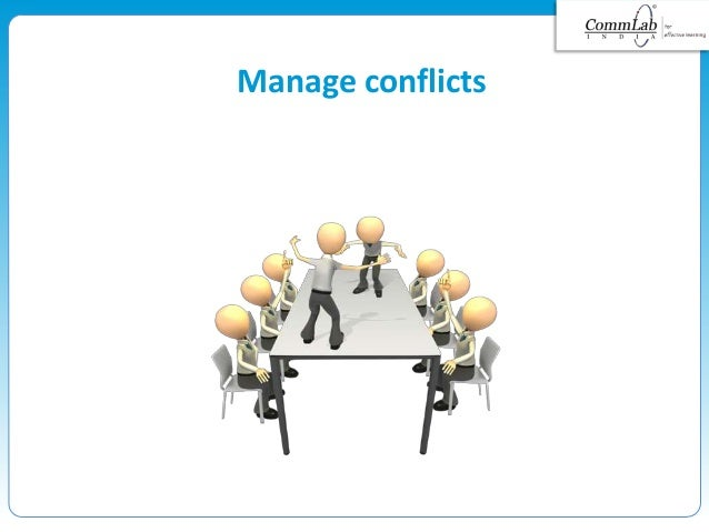 Manage conflicts