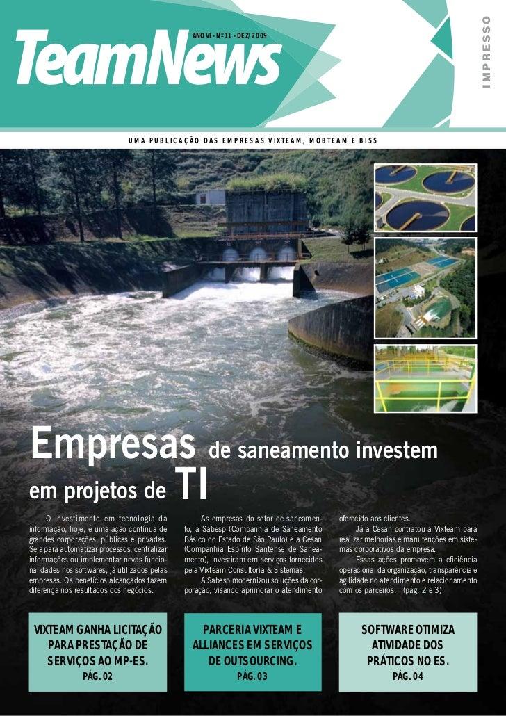 IMPRESSO                                                 ANO VI - Nº 11 - DEZ/2009                               UMA PUBLI...