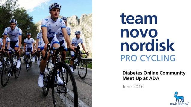 2016 inspire Ÿ educate Ÿ empower1 PRO CYCLING PRO CYCLING RACINGWITHDIABETES Diabetes Online Community Meet Up at ADA Ju...