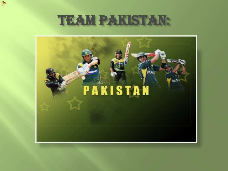 TEAM PAKISTAN: