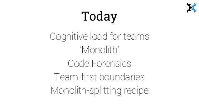 Teams and monoliths - Matthew Skelton - Agile in the City Bristol 2016 Slide 2