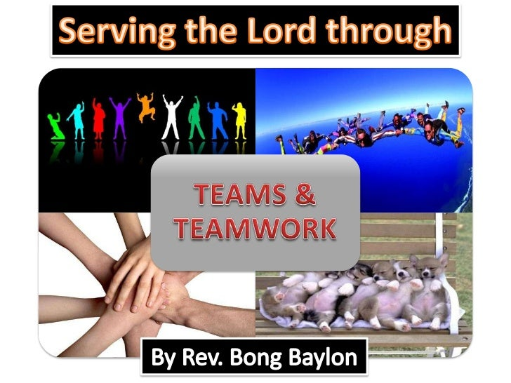 Serving the Lord through<br />By Rev. Bong Baylon<br />