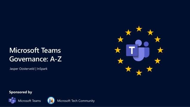 Microsoft Teams Governance: A-Z