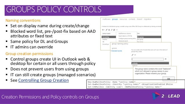 Office 365 Groups vs Team Sites