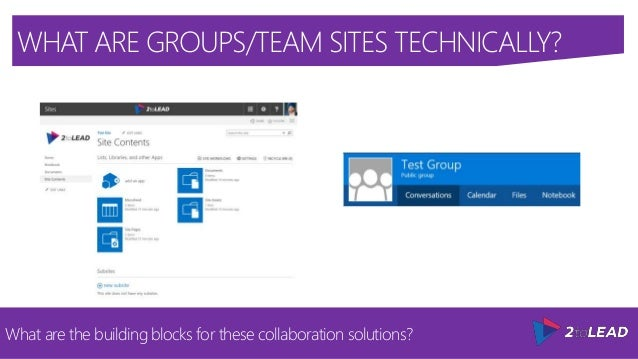 how to create team site in office 365