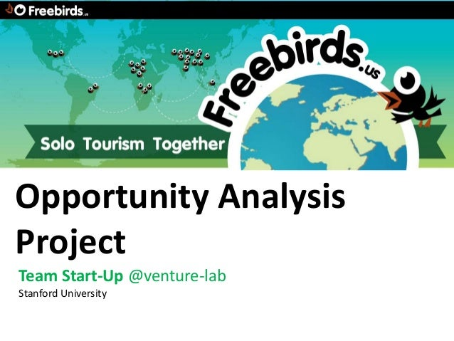 Opportunity AnalysisProjectTeam Start-Up @venture-labStanford University
