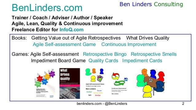 Teams what is in it for me - Agile Portugal 2019 - Ben Linders Slide 2
