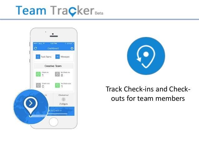 team tracker app benefits