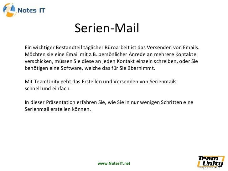 Ein wichtiger Bestandteil täglicher Büroarbeit ist das Versenden von Emails. Möchten sie eine Email mit z.B. persönlicher ...