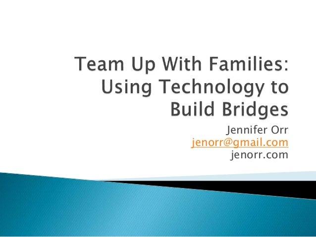 Jennifer Orr jenorr@gmail.com jenorr.com