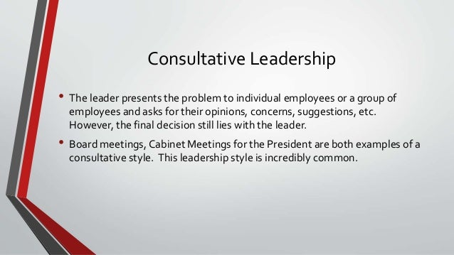 an example of leadership log