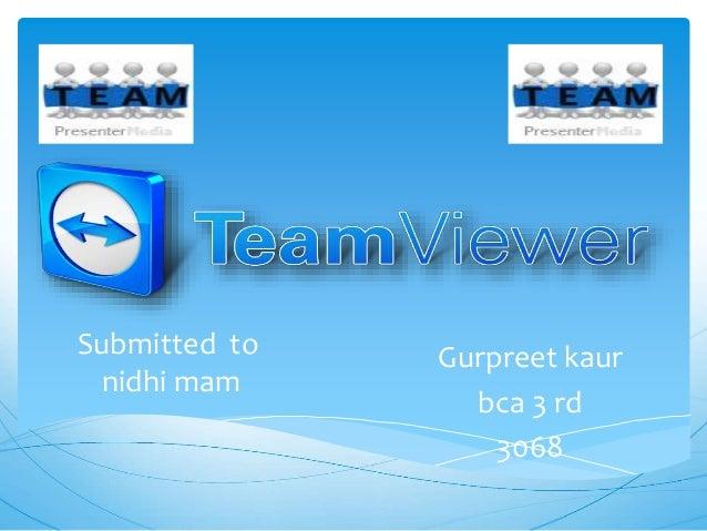 Submitted to  nidhi mam  Gurpreet kaur  bca 3 rd  3068