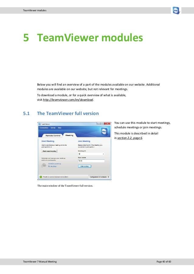 Team viewer7 manual_meeting_en