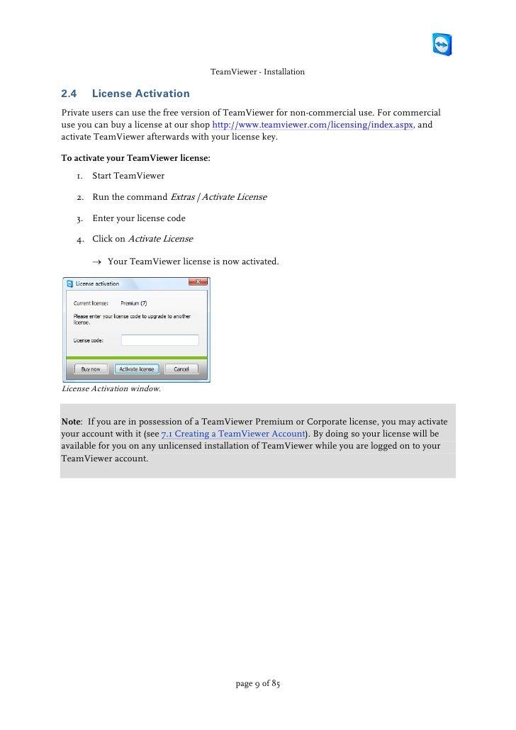 Teamviewer manual by PW