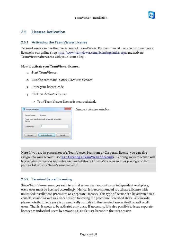 Teamviewer License Blocked
